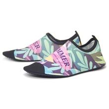лучшая цена QEJEVI Water Shoes Men Women Aqua Swimming Footwear Wading Seaside Walking Cheaper Breathable Quick-Dry Hiking Slippers Socks