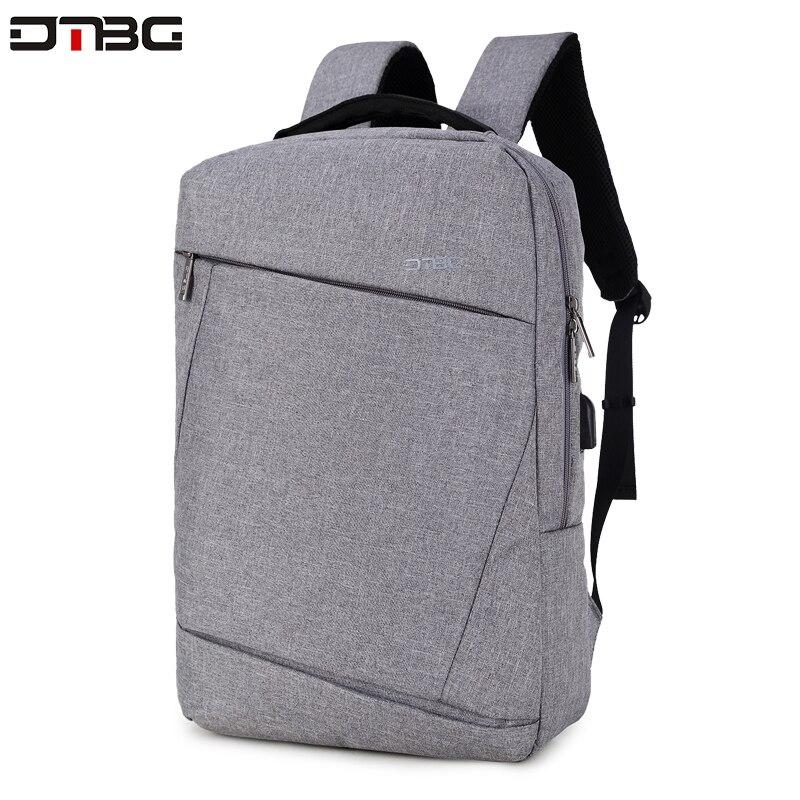 DTBG Gray Backpack 15.6