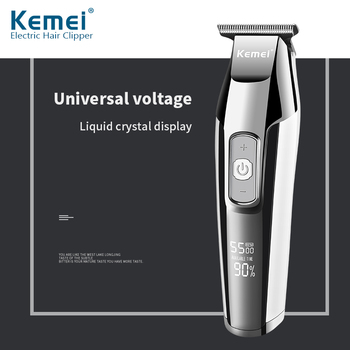Kemei Machine Hair Clipper Men's Electric Haircut Professional Barber Cordless Cable Barber Shop Clipper Trimmer for Men knife kemei hair clipper professional men s electric haircut barber shop cordless cable cutting machine hair clipper trimmer for men