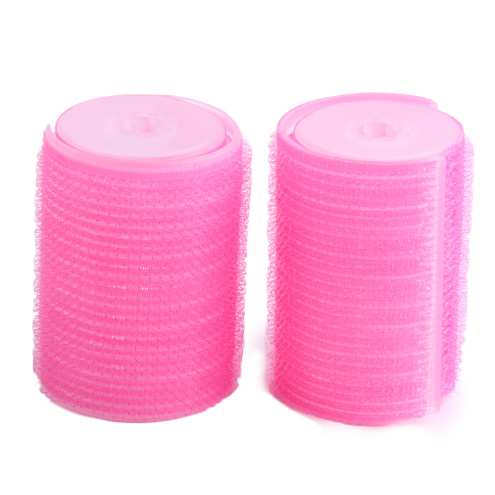 2pcs/set  Women Bangs Two Sizes Hair Styling Tools Curlers Hot Hair Rollers Double Hairdressing Tool