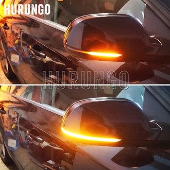 Para Audi A3 S3 8P 10- 2012 A4 S4 RS4 B8 8K ( B8.5 ) A5 S5 RS5 2011-2015 ala lateral espejo indicador dinámico de señal de vuelta de luz LED