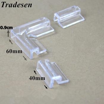2 szt akwarium szklane kąt ochrony zbiornik akwarium szkło pokrywa akrylowe klip mocny uchwyt podporowy 5mm 6mm 10mm 12mm szkło