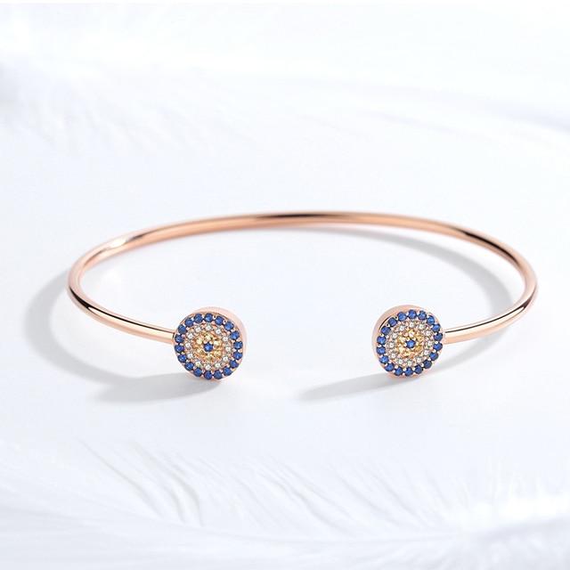Bracelet Kaletine oeil bleu 4