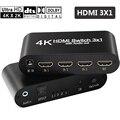 5 шт. HDMI аудио сплиттер три HDMI в HDMI + SPDIF + 3 5 мм аудио для DVD Blue-Ray DVD PS3 HD плеер с hdmi spdif кабелем