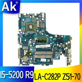 AIWZ0/Z1 LA-C282P motherboard for Lenovo Z51-70 Y50C XIAOXIN V4000 notebook motherboard CPU I5-5200U R9 M375 100% test work