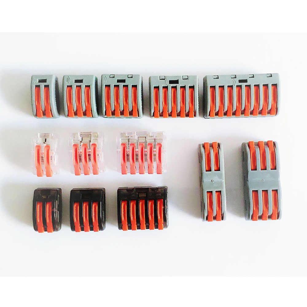 Draad Connector Terminal Connector Wire Terminal Blok Universele Power Connector Elektrische Mini Snelle Plug In Connector
