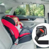 Clip de fijación para asiento de seguridad de bebé, hebilla de bloqueo, cinturón de seguridad, arnés de correa, pecho, Clip para niño, hebilla, accesorios de coche