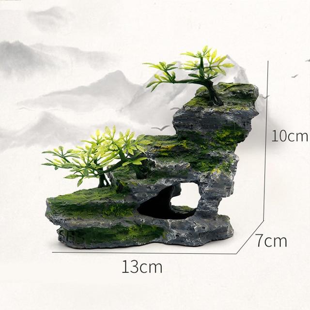 Stone Mountain Rockery Micro Landscape Scenery Fish Tank Accessories 3