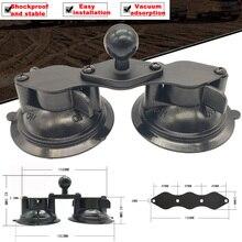 JINSERTA Auto Fenster Doppel Twist Lock Saugnapf Basis mit Aluminium Diamant Basis w/1 Gummi Ball für gopro Kamera Ram Halterungen