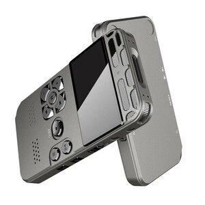 Image 1 - 8 gb recarregável lcd digital áudio som gravador de voz portátil ditaphone mp3 player sga998