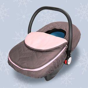 Image 2 - Housse pour nouveau né, pour siège de voiture, pour bébé, couverture pour siège de voiture, résistante aux intempéries et au froid, couverture, auvent, pour poussette, accessoire