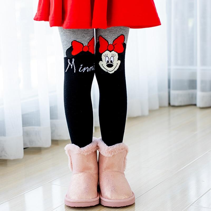 Disney Mallas gruesas de algod/ón para ni/ñas