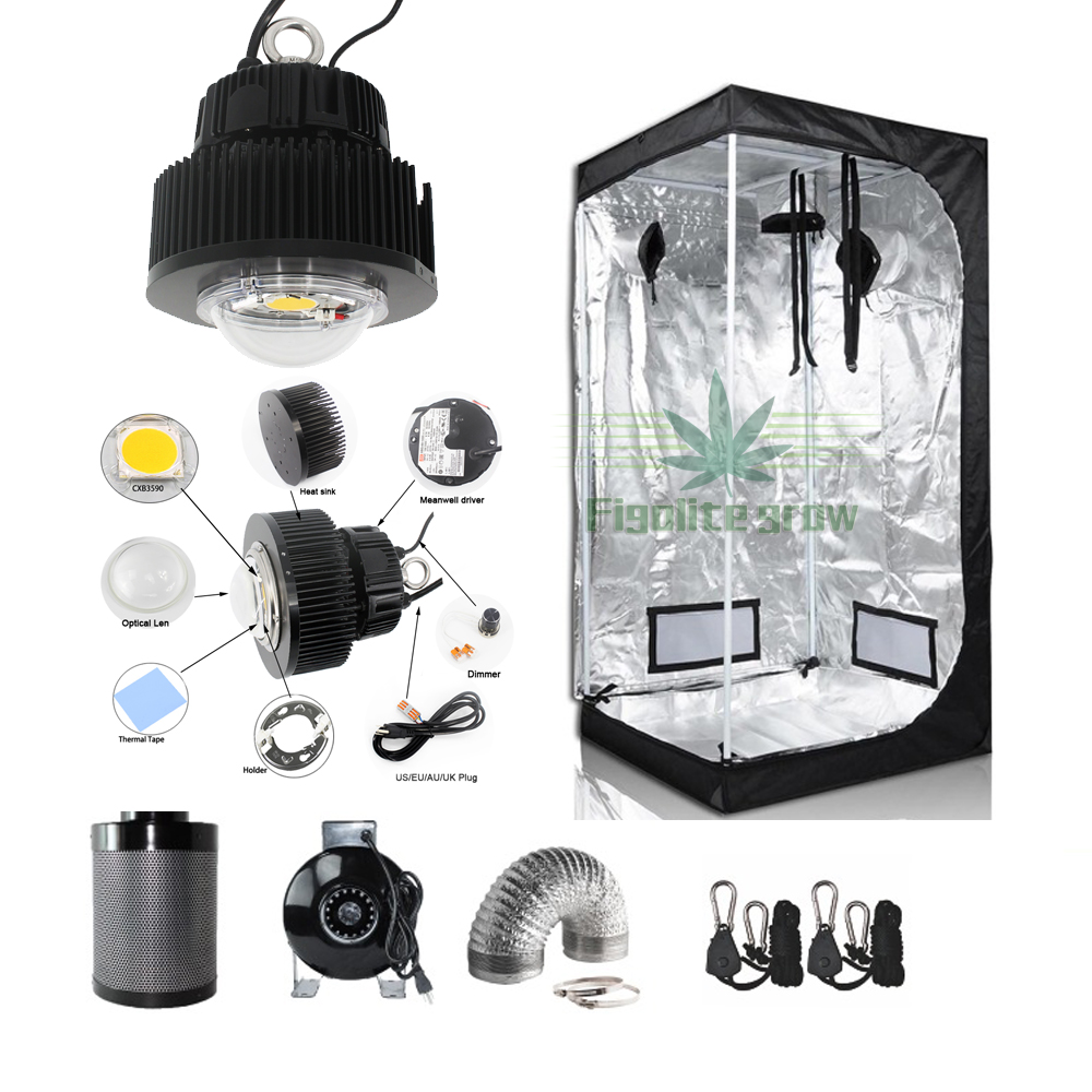Hydroponic 80*80*160cm Grow Kit System For Indoor Use