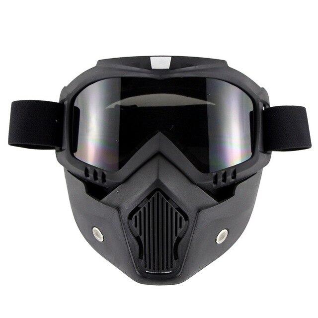 Купить индивидуальная ретро маска для лица очки мотогонок по пересеченной