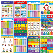 Stickers Display Wear-Resistant And Pendant Toy Posters Educational-Decoration Colorful