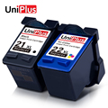 UniPlus 21XL 22XL чернильный картридж Замена для HP 21 HP 22 hp21 hp22 принтер факс 1250 3180 PSC 1401 1402 1403 1406 1408 1410