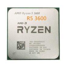 Amd ryzen 5 3600 r5 3600 de 3,6 ghz, 6-core 12-hilo de 65w original processador soquete am4