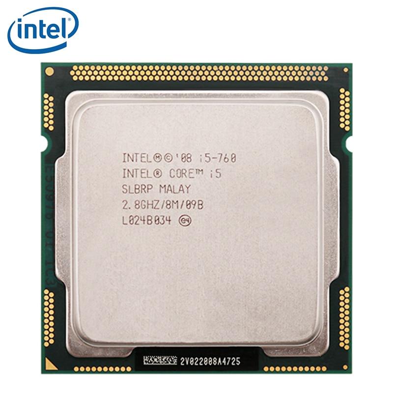 Intel Core i5 760 Processor 2.8GHz 95W 8MB Cache Socket LGA 1156 45nm Desktop i5 760 CPU tested 100% working|CPUs|   - AliExpress
