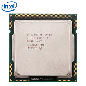 Intel Core i5-760 Processor 2.8GHz 95W 8MB Cache Socket LGA 1156 45nm Desktop i5 760 CPU tested 100% working