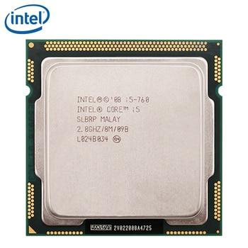 Intel Core i5-760 Processor 2.8GHz 95W 8MB Cache Socket LGA 1156 45nm Desktop i5 760 CPU tested 100% working