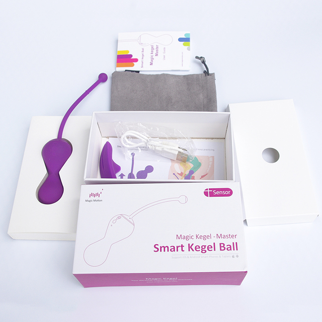 Magic Motion Kegel Master Vagina Ball Bluetooth Vibrator APP Remote Control Smart Tighten Training Benwa Ball Sex Toy for Woman 6