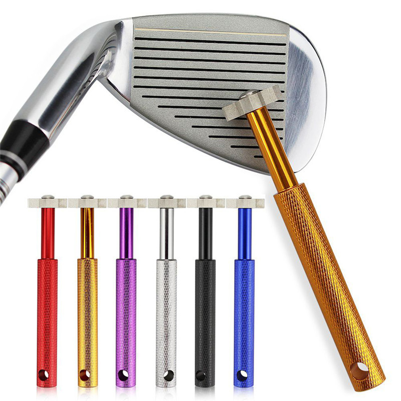 Golf Club Grooving Sharpening Tool Golf Club Sharpener Head Strong Wedge Alloy Wedge Golf Accessories