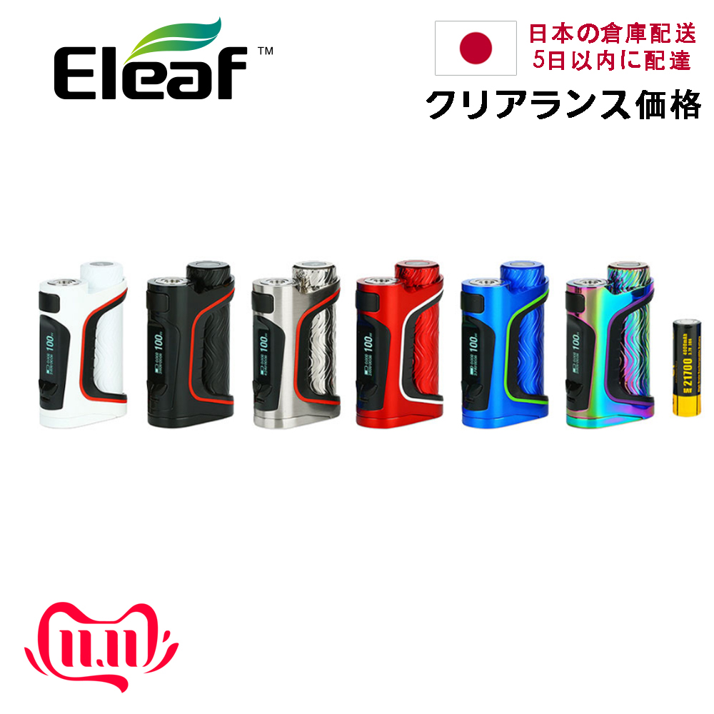 Clearance! Japan Warehouse 100W Original Eleaf IStick Pico S 21700 TC Box MOD 4000mAh 21700 Battery E-cig Vape Mod VS Ijust 3