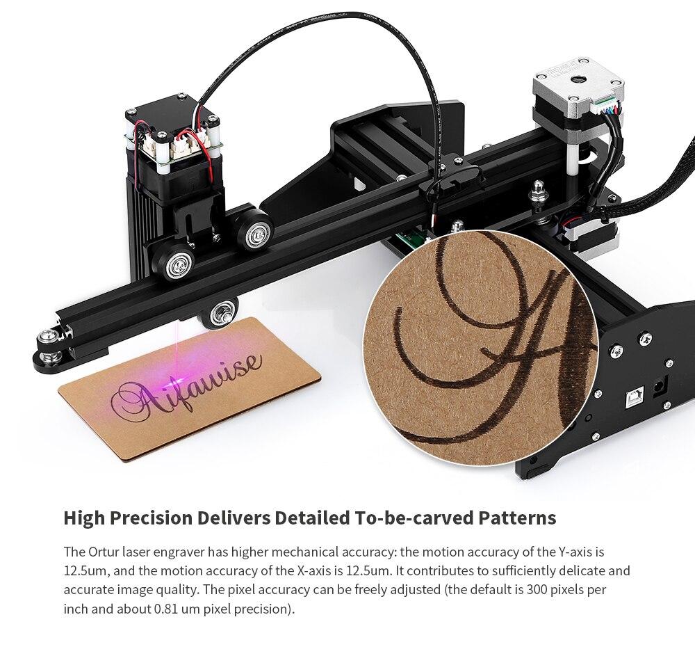 Ortur Laser Master 7W osobista laserowa maszyna grawerująca DIY grawer laserowy maszyna do cięcia metalu drukarka 3D obsługuje Windows IOS