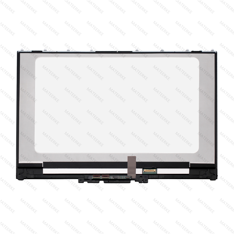 Image 3 - LCD Touch Screen Assembly With Frame For Lenovo Yoga 720 15IKB P/N 5D10N24288 5D10N24289 5D10M42865 5D10M42865-in Laptop LCD Screen from Computer & Office