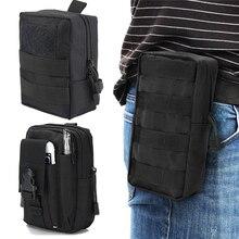Tactical Molle Belt Waist Pack Bag Pouch Military Waist Fanny Pack Uti