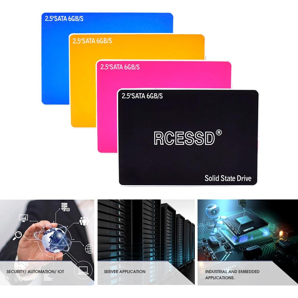 """RCESSD металлический SSD 60 Гб 240 ГБ 120 ГБ 480 960 1 ТБ SSD 2,5 жесткий диск твердотельных дисков 2,"""" внутренний SSD 256 ГБ 512"""