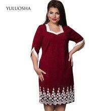 YULUOSHA New Plus Size Mother of The Bride Dresses