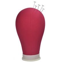 التدريب المعرضة رئيس قماش كتلة رئيس عرض التصميم المعرضة القزم رئيس شعر مستعار حامل حامل الحرة