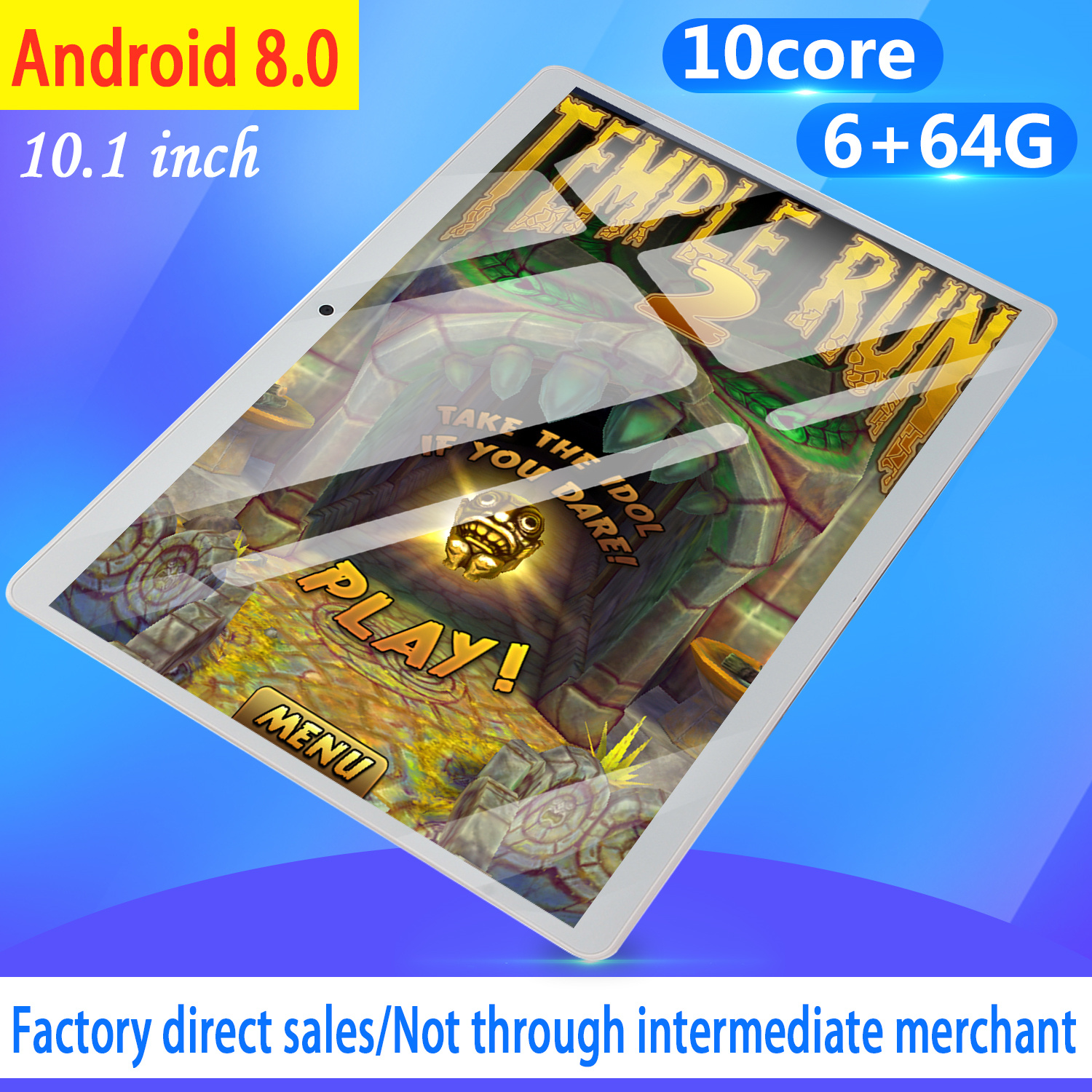 2020 Free Shipping 10 Inch 4G Phone Tablet PC Android 8.0 10 Core RAM 6GB ROM 32GB 64GB