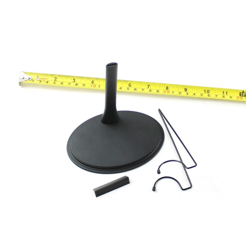 5 PC WIDE WAIST Action Figure DISPLAY STANDS 1/6 Action Figure Doll plastic metal Doll Display Stand with plastic base-5