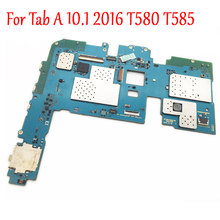 Original Full Work Unlock Motherboard For Samsung Galaxy Tab A 10.1 2016 T580 T585 Logic Circuit Electronic Panel Tested(China)