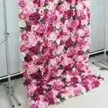 SPR 4ft * 8ft retrousser tissu fleur mur artificiel rose mariage occasion toile de fond arrangement fleurs décorations livraison gratuite