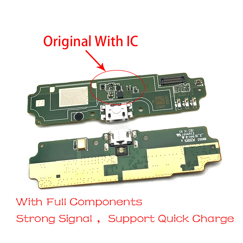 USB Charing Port Flex Cable For Xiaomi Redmi 4A 5.0 Inch Dock Connector Plug Board Replacement Part