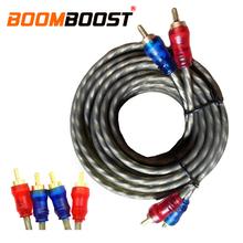 Skrętka czysty drut miedziany rdzeń samochodowe stereo Audio przewód do konwersji 5M wzmacniacz Audio kabel Audio wysokiej rozdzielczości tanie tanio PolarLander Linia róg