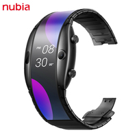 Nubia Alpha-reloj inteligente plegable con pantalla Flexible de 4,01