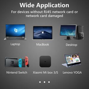 Image 5 - Externe USB Verdrahtete Ethernet Netzwerk Karte Adapter USB zu Ethernet RJ45 Lan für Windows 7/8/10/XP RD9700 Für Win XP/7/8/10