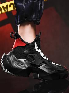Damyuan Sneakers Casual-Shoes Plus-Size Hombre Fashion De for Men Deformation-Machine
