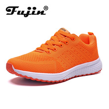 Fujin Women  Autumn Shoes Vulcanized Comfortable Air Cushion Sneakers Dropshipping Casual Platform Lace Up Breathable
