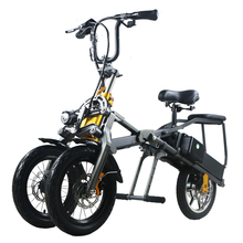 Chinese 48V 350W folding scooter electric tricycle
