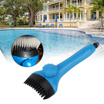 цена на Mini Handheld Swimming Pool Filter Cleaner Clean Brush Swimming Pool Cleaning Accessories PVC for Clean The Filter Cleaning Tool