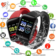 116Plus Smart Watch Wristband Sports Fitness Blood Pressure Heart Rate Call Message Reminder Android Pedometer D13 Smart Watch xiaomi mi band 4