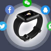 D13 In Magazzino Inseguitore di Fitness Smartband Attività Smartwatch Bluetooth Wristband Del Braccialetto Impermeabile Monitor di Frequenza Cardiaca di Uomini Donne