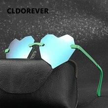Высококачественные поляризованные солнцезащитные очки для детей, милые зеркальные солнцезащитные очки с сердечками, брендовые дизайнерские солнцезащитные очки для маленьких девочек, детские очки
