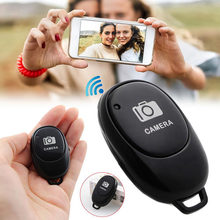 Botão de controle remoto bluetooth, controle wireless, timer para auto-desligamento, selfie, celular para ios/android