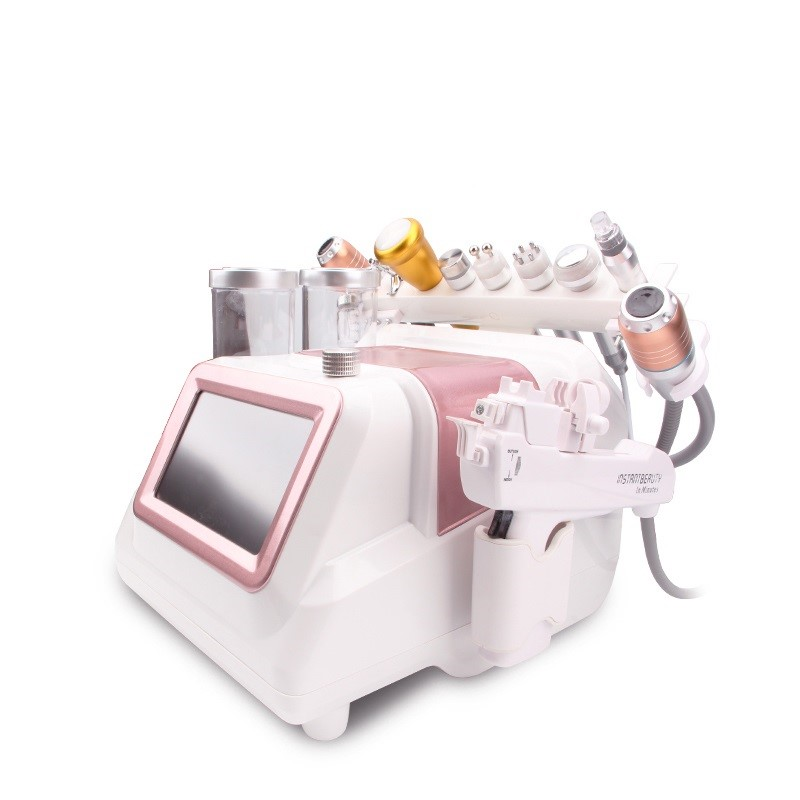 New Upgrade H2 O2 Small Bubble Hydra Facial Water Oxygen RF Vacuum Skin Clean Machine